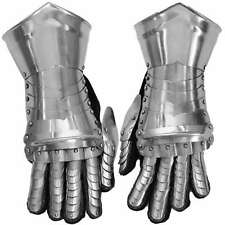 Medieval Knight Gothic Style Functional Armor Gauntlet Set