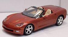 2005 CORVETTE C6 Convertible Promo Daytona Sunset Orange MODELMAX