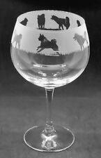 More details for akita frieze boxed 70cl glass gin balloon