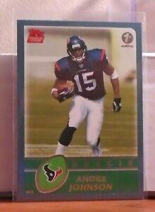 2003 Topps Football:1st Edition:Rookie:Andre Johnson-Houston Texans #380