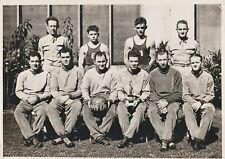 New ListingVintage Photograph 1940 Basketball Champions Schofield Barracks Hawaii Hi