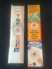 Official Limited Edition Boxed SEIKO OLYMPIC Watch ATLANTA 1996 McDonalds in Box
