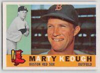 1960  MARTY KEOUGH - Topps Baseball Card # 71 - BOSTON RED SOX