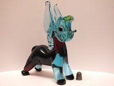 Rare Barovier & Toso 1960s / 1970s Murano / Venetian Glass Braying Donkey Figure