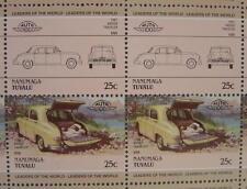 1947 KAISER TRAVELER Car 50-Stamp Sheet / Auto 100 Leaders of the World