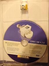 Sirona Cerec Bluecam blau CAM Software v4.2 Dongle Softguard Drive