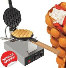 EGG WAFFLE Maker Professional 110V (EGG QQ CAKE GRILL for BUBBLE WAFFLES)