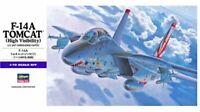 "F-14 A TOMCAT ""HIGH VISIBILITY"" (U.S. NAVY MARKINGS) #E3 1/72 HASEGAWA"