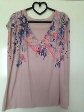 Per Una V Neck Singlepack Floral Tops & Shirts for Women