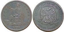 UNITED STATES TRADE DOLLAR 1878 S KM#108 GRADE AU50!!!