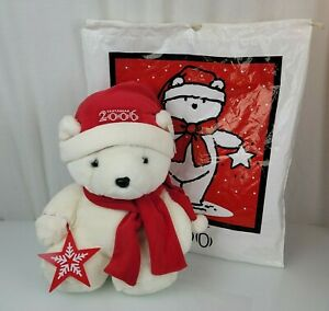 2006 Macys Macy's Dayton Hudson Santabear Santa Bear Xmas Plush NEW NWT