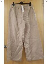 Brindis Pantalones 16 RRP £ 95 BNWT Pierna Ancha tierra Vintage/Niña/Velero En Capas