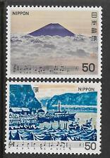 JAPAN 1979 SONGS MUSIC SERIES 3 2v MNH