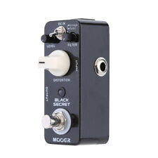 Mooer Black Secret Micro Mini Distortion Electric Guitar Effect Pedal True F2M0