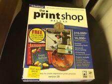 The printshop deluxe version 20 by broderbund 382223