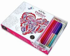 Vive le Color! Energy (Coloring Book and Pencils) : Color Therapy Kit by...