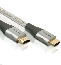Philips High Speed 6' ft HDMI Cable 1080P 4K Ultra HD 3D HDTV 24K Gold Plated