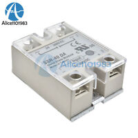 2PCS Single Phase Solid State Relay SSR Safety Clear Transparent Plastic Cover