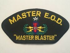 "Master E.O.D. Master Blaster Hat Patch 5-1/4"" Embroidered"