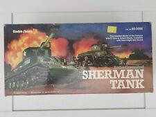Vintage RC Toy Unused 1980s Radio Shack Sherman Tank Radio Control Nikko - BNIB