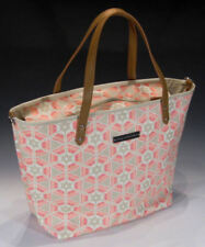 Petunia Pickle Bottom Downtown Tote Diaper Bag, Blooming Brixham, Pink