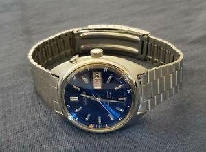 Seiko Bellmatic 4006-6010 Bell Matic Steel Watch Needs Repair Alarm Works