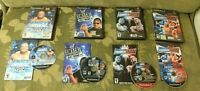PS2 LOT/COLLECTION WWE SmackDown Here Comes the Pain + JUST BRING IT + RAW 06/07