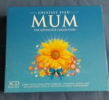 Greatest Ever Mum The Definitive Collection 3-CD Box Set. Various Artists