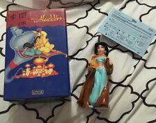 """Disney Aladdin Princess Jasmine Ceramic Porcelain Figure Schmid 6"""" W/ Box"""