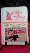 Walt Disney Herbie Goes Bananas RARE small clamshell 1980 BETA racing Volkswagen