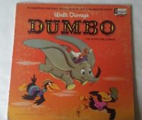 1965 Walt Disnye's Dumbo Vinyl LP ST 3904