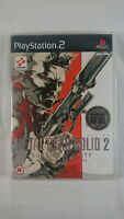 Metal Gear Solid 2: Sons of Liberty - PS2 - Sony PlayStation 2 - 2001 -Bonus DVD