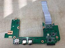ASUS Eee PC 1201HA 1201HAB Tablero De Lector De Audio Usb + cable 60-OA1RIO2000-A02