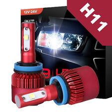 H11 H8 CREE LED Headlight Conversion Kit 252W 25200LM Fog Lamp Light Bulbs 6000K
