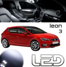 SEAT LEON 3 5F 10 LED-Lampen weiß Deckenleuchte Innenraum Spiegel Kofferraum