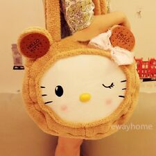 Lolita Girls Cookies Cute Cat Plush Shoulder Bag handbag Travel Bag 45*45