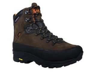 Spika Kosci Hunting Hiking Vibram waterproof lace up leather Boot Men US 9 EXC