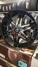 "28"" INCH DIABLO RIMS WHEELS ONLY FIT CHEVY GMC FORD CADILLAC ASANTI FORGIATO DUB"