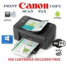 NEW Canon Wireless Printer-photo/Copy/Scan-Android Air Print-LCD-Fax