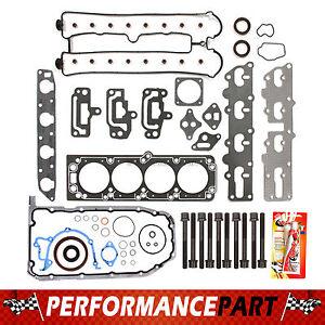 "04-08 Suzuki Forenza Reno  2.0L DOHC 16V ""A20DMS"" Full Gasket Set + Head Bolts"