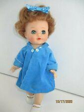 """Vintage Eegee Bent Knee Walker Doll 10"""" plus cute outfit"""