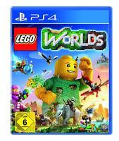 LEGO Worlds [PlayStation 4] Für die ganze Famile, Weltenbau, PS4 Neuware
