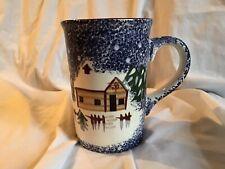 COOKS BAZAAR GOURMET Holly Mountain Lodge Jumbo (20 oz.) Coffee Cocoa Mug *EUC*