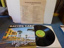 RACING CARS - WEEKEND RENDEZVOUS , CHRYSALIS 1977 , VG+/EX ,LP