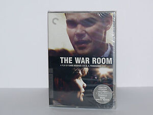 THE WAR ROOM Criterion Collection DVD Region1 Canada/USA New Still Sealed