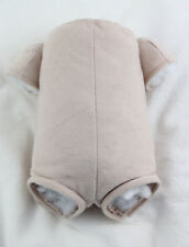 """17"""" doe suede body for 3/4 arms & full front-loading legs reborn baby doll kits!"""