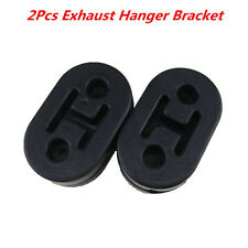 2Pcs Heavy Duty Universal Exhaust Mount Repair Hanger Bracket Rubber Replacement