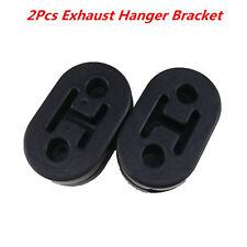 2Pcs Heavy Duty Universal Exhaust Mount Repair Hanger Bracket Rubber Replacement