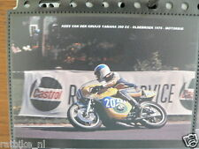 S0535-PHOTO- KEES VAN DE KRUIJS YAMAHA 350 CC OLDEBROEK 1976 NO 20 EURO LEATHERS