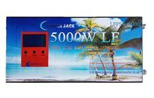 Inversor Onda pura 5000w de 12V / 24V a 230V LCD + Cargador 80A Reacondicionado